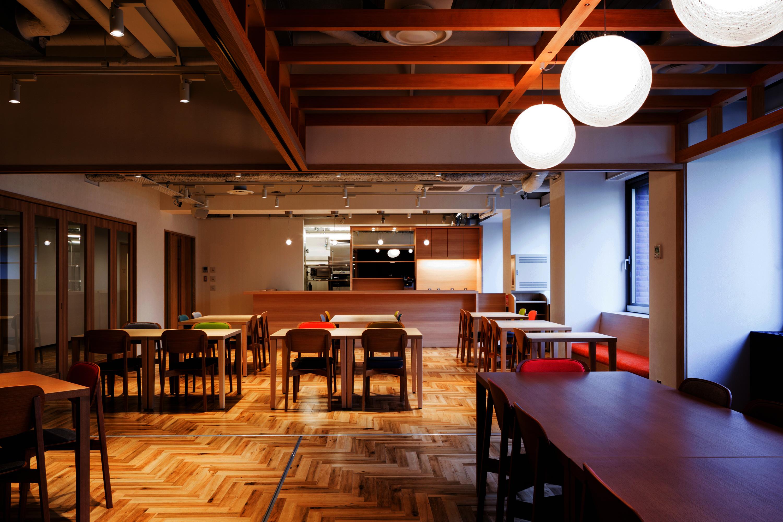 日本ヴォーグ社カフェ